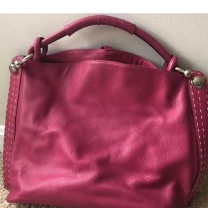 BCBGMaxAzria Bags - BCBGMAXAZRIA large leather satchel